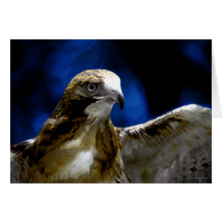 Young eagles fly away(card) greeting card