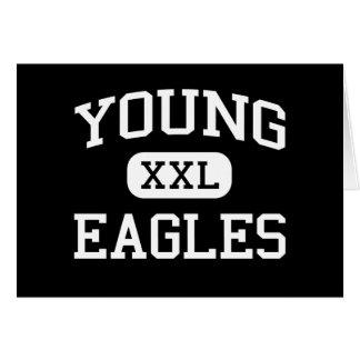 Young - Eagles - Junior - Arlington Texas Greeting Card