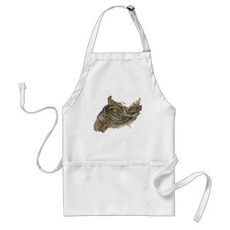 Young Eastern Garter Snake Coordinating Items Adult Apron