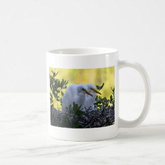Young Egret Chicks Coffee Mug