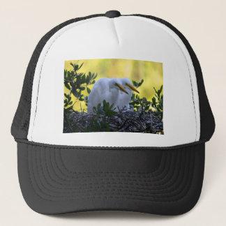 Young Egret Chicks Trucker Hat