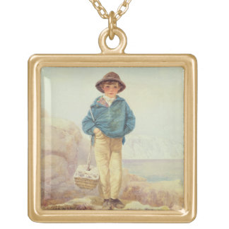 Young England - A Fisher Boy Gold Plated Necklace