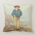 Young England - A Fisher Boy Pillow
