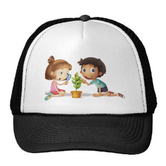 Young enquirers trucker hat