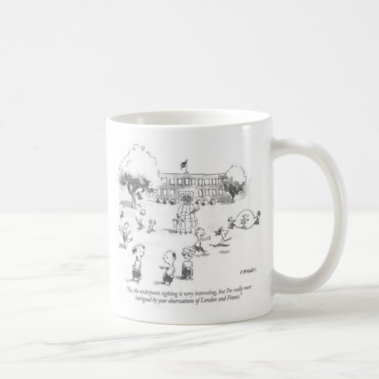 Young Epistemologist large white mug (left-hand)