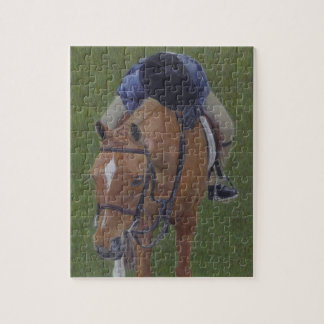 Young Equestrian Rider and Pony Jigsaw Puzzle