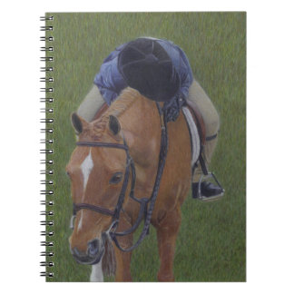 Young Equestrian Rider and Pony Notebook