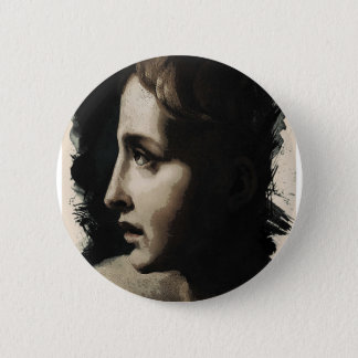 Young Faces from the past Series by Adam Asar, No Pinback Button