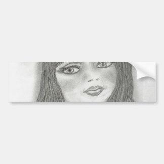 Young Fairy Bumper Sticker