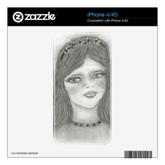 Young Fairy Decals For The iPhone 4S