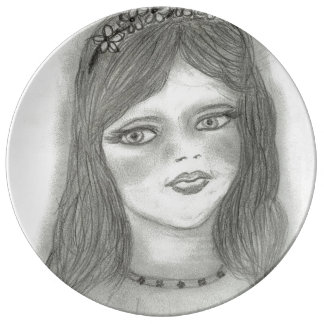 Young Fairy Dinner Plate