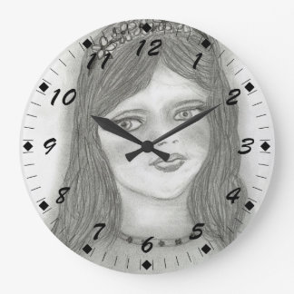 Young Fairy Large Clock