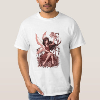 Young Fairy with Flowers by Al Rio Shirt