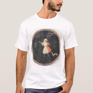 Young falconer, Florentine School T-Shirt
