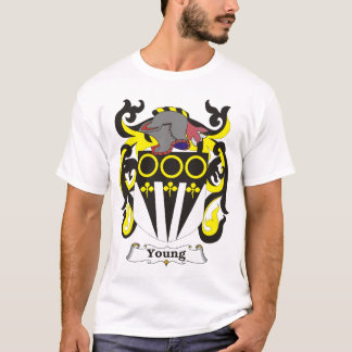 Young Family Coat of Arms T-shirt
