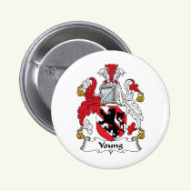 Young Family Crest Button
