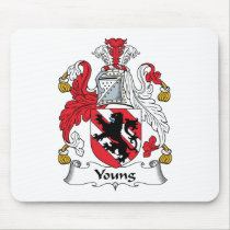 Young Family Crest Mousepad