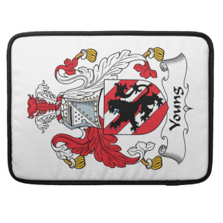 Young Family Crest Sleeve For MacBook Pro