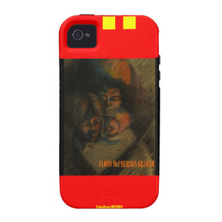 Young Family iPhone 4 Cover