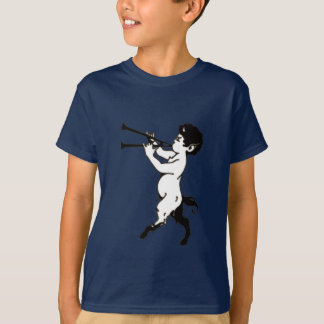 Young Faun With Double Flute Clr T-Shirt