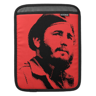 Young Fidel with a dreamy look tablet sleeve