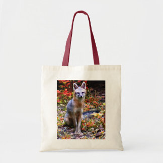 YOUNG FOX CANVAS BAG