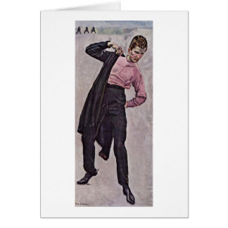 Young Freedom Fighter By Ferdinand Hodler Greeting Card