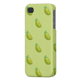 young fresh mango pattern iphone 4 iPhone 4/4S cover