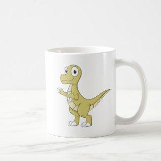 Young Friendly Dinosaur Coffee Mug