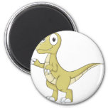 Young Friendly Dinosaur Refrigerator Magnets