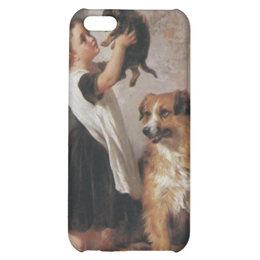 Young Friends 1876 - George Augustus Holmes iPhone 5C Case