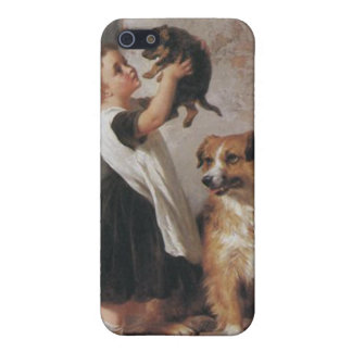 Young Friends 1876 - George Augustus Holmes iPhone SE/5/5s Case