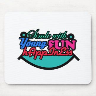 Young Fun Hapiness Mouse Pad
