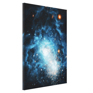 Young Galaxy Canvas Print