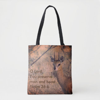 Young Gazelle Tote Bag