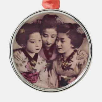 Young Geisha girls Ornaments