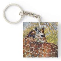 Young Giraffe Keychain