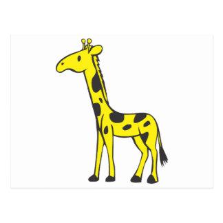 Young Giraffe Postcard