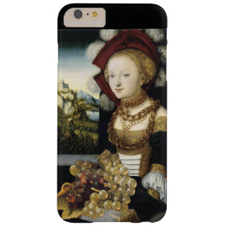 YOUNG GIRL ,ANTIQUE VINEYARD GRAPES AND WINE BARELY THERE iPhone 6 PLUS CASE