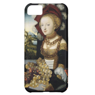 YOUNG GIRL ,ANTIQUE VINEYARD GRAPES AND WINE COVER FOR iPhone 5C