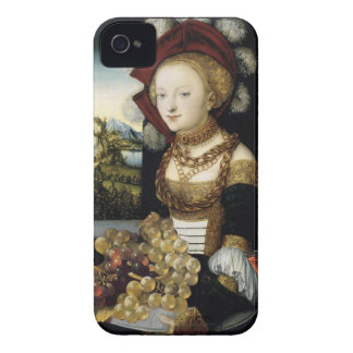 YOUNG GIRL ,ANTIQUE VINEYARD GRAPES AND WINE iPhone 4 CASE