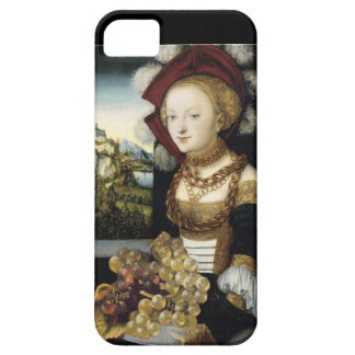 YOUNG GIRL ,ANTIQUE VINEYARD GRAPES AND WINE iPhone SE/5/5s CASE