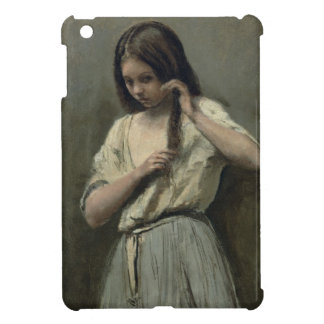 Young Girl at her Toilet iPad Mini Case