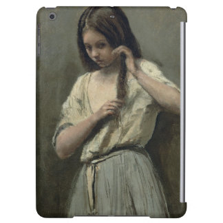 Young Girl at her Toilet Case For iPad Air