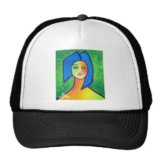 Young Girl by Piliero Trucker Hat
