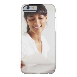 Young girl doing homework barely there iPhone 6 case