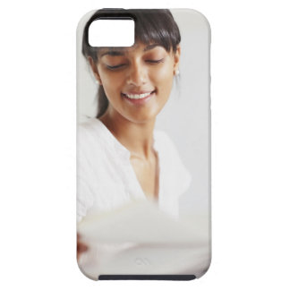Young girl doing homework iPhone SE/5/5s case