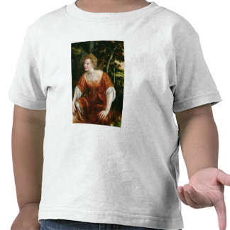 Young Girl in a Landscape Shirts