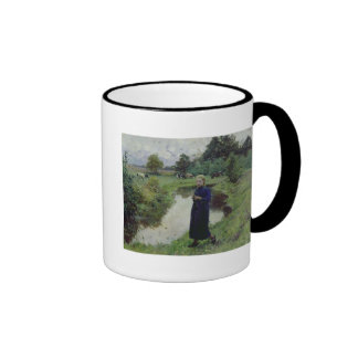 Young Girl in the Fields, Ringer Mug