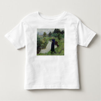 Young Girl in the Fields, Shirt